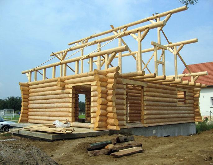 Qui confier la construction de sa maison en bois for Construction en bois details