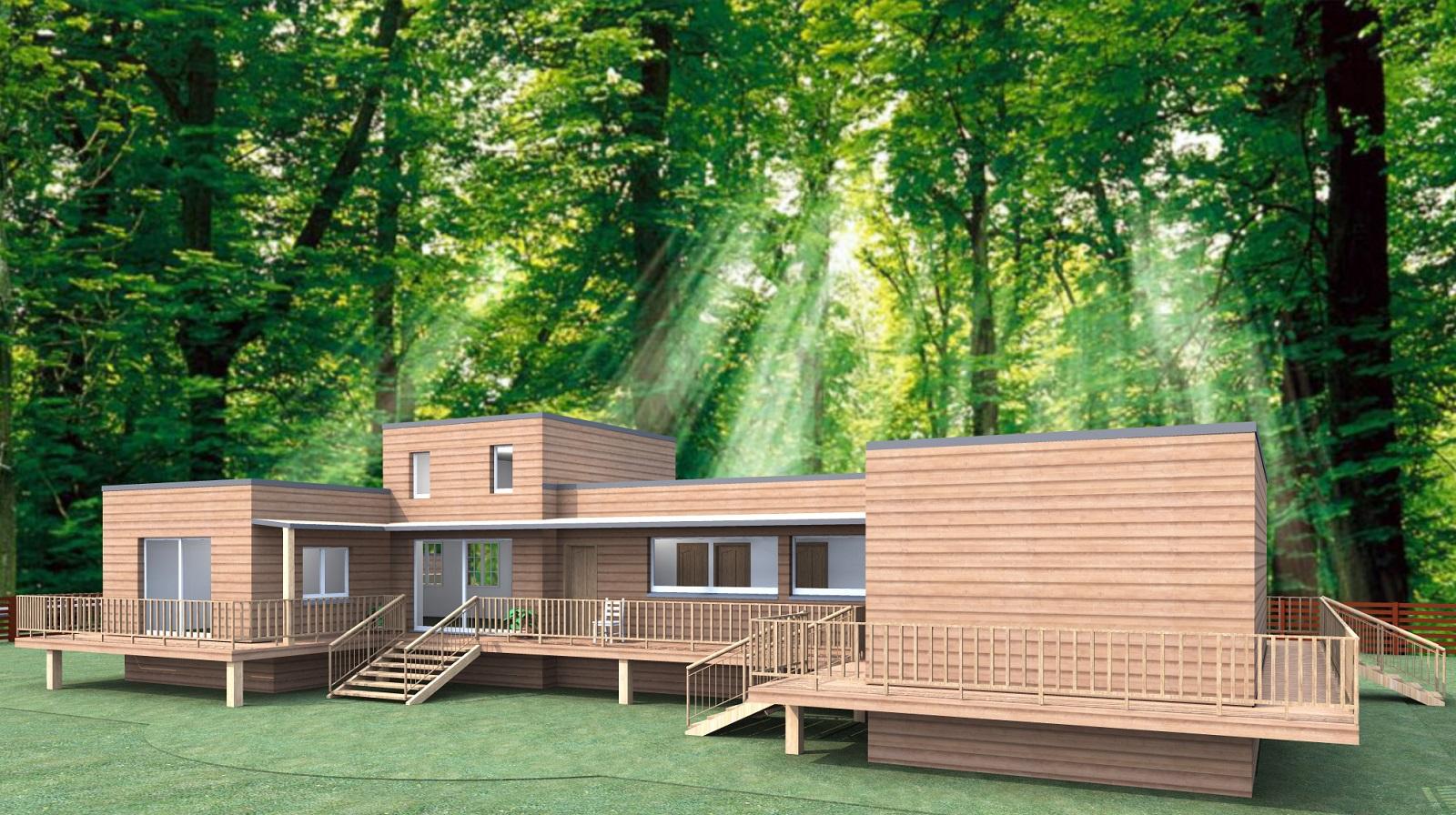 Qui confier la construction de sa maison en bois for Monter sa maison en bois