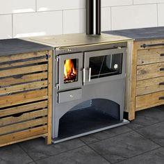 cuisiniere à bois