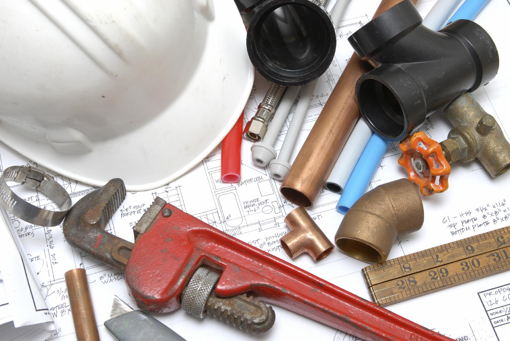 les outils n cessaires pour les travaux de plomberie. Black Bedroom Furniture Sets. Home Design Ideas